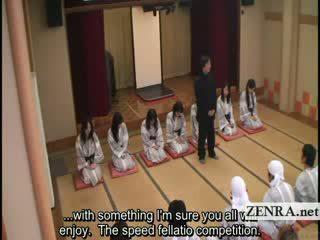 Subtitled big Boob indebted Japan milfs bathhouse sex game