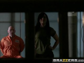 Brazzers - Shes Gonna Squirt - Prison Pussy Scene.