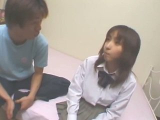 This 18yo japanese girl loves penetrate