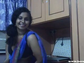 Künti lily in blue sari indiýaly jana sikiş video - pornhub.com