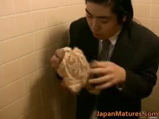 Japonské žena je zvrátené a vyzreté part1