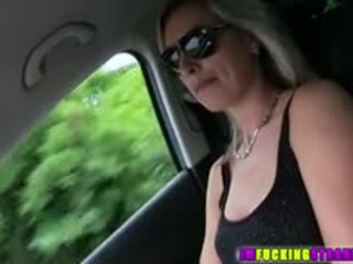 Brunette Hitchhiker Alena Gets Fucked