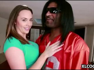 Chanel Preston loves big black cock