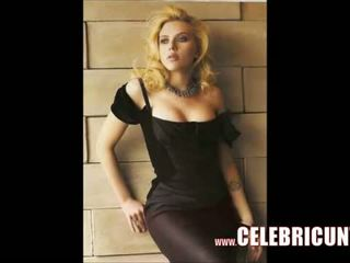 Scarlett johansson naakt poesje vol frontal video-