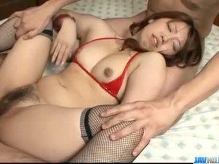 Obedient ai ootomo goes إلى في two كبير cocks