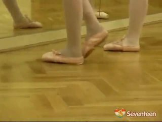 Legal vârstă teenagerage ballet fete