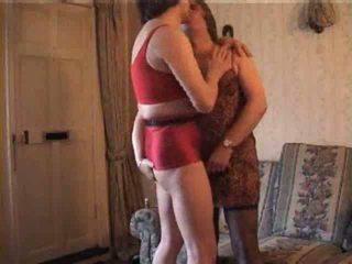 Shameless crossdressers uz karstās video