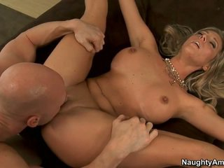 Samantha Saint fucking her boyfriend's son