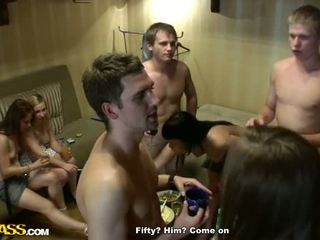 Real College Orgy With Kinky Sex Toys In Action