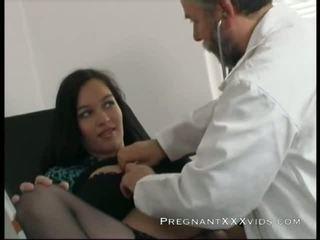 вагітна, мама, лікар