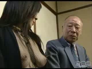 Seksikäs aasialaiset koulu tyttö