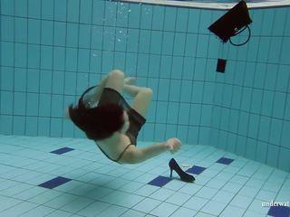 Kristy in a See Through Dress Underwater, Porn c4