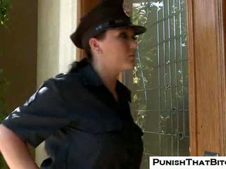 Curvy asu claire dames gets forced punishment by jenni
