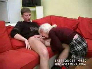 fucking, granny, blowjob