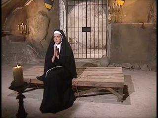 נזירה שני גברים ואישה זיון: חופשי הארדקור פורנו וידאו 12