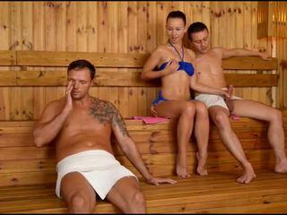 Taylor sands sauna throat party