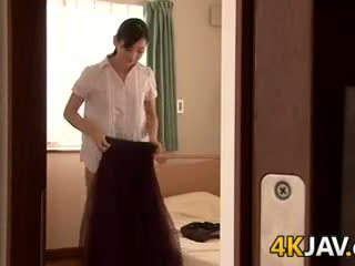 Japansk kone gets knullet