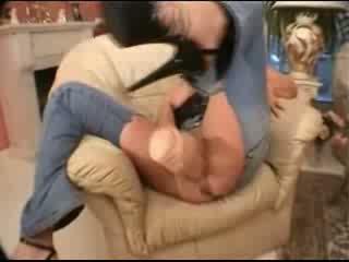 Uriaș dildo ripped jeans și minunat creampie video