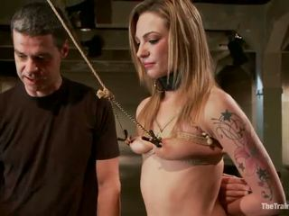 Smut Bailey Blue Has Constrained Up And Brown Tunnel Made Love In Pain Happiness Vid