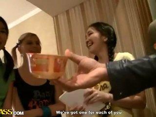 Aasia kolledž tüdrukud aktsia munn