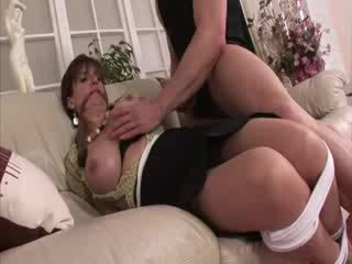 Lady Sonia bound and in stockings