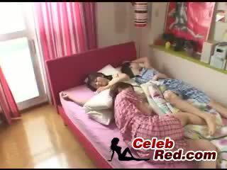 Three Asian Sisters Fucked By A Lucky Dude Busty Natural