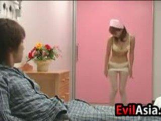 Asian Nurse Having Sex