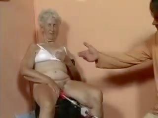 fucked, starý, babička