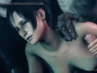 Ada Wong in Resident Evil have sex