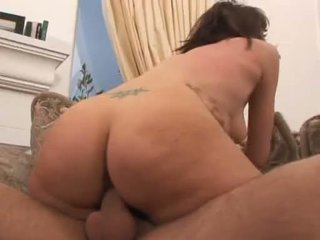Alluring Ava Rose slips this raging hard cock deep into her slimy twat