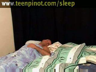 Κορίτσι beauty πατήσαμε ενώ κοιμώμενος/η