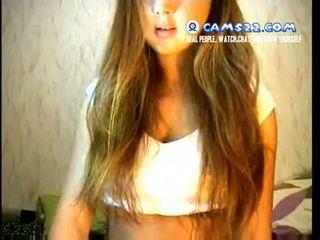 Rubia super caliente adolescente seduced a masturbate en webcam chat con strangers