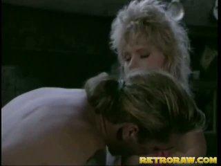 Retro blondi gets porattu iso