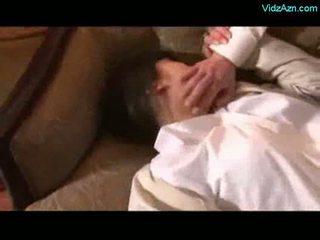 एशियन गर्ल getting rapped licked मजबूर को चूसना कॉक द्वारा 2 gu