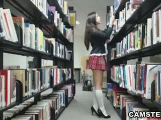 webcam, striptease, scolara