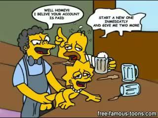 karikatūras, simpsons
