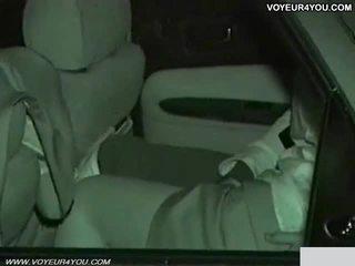 Verklig amatör dag natt bil kön