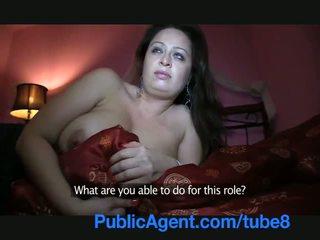 Publicagent masīvs krūtis fucked uz the viesnīca