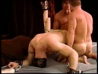 CBT First Time is a hot Muscled dude with big dong is put through a tough testiclepunishment rou