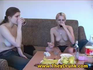 Drunk Lesbians And Banana
