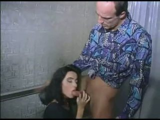 Father fuck daughter before she go out