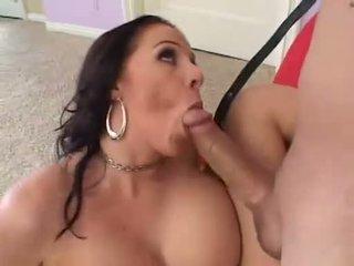blowjobs, lielas krūtis, pornozvaigžņu