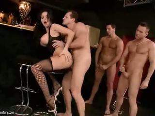 nagy mell, pornósztárok, harisnya