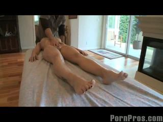 Oily Massage Four Play With Ally Style