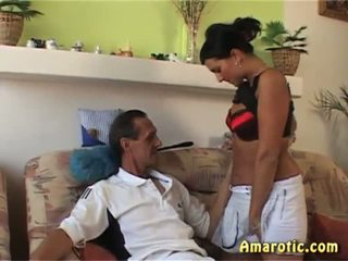 Old Man - Young Girl: Free Teen Porn Video 35