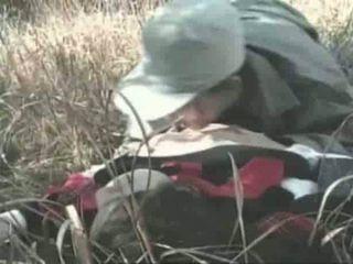 Innocent момиче gets прецака на открито видео