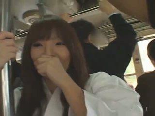 مفلس اليابانية فتاة hitomi tanaka banged في جمهور
