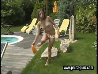 Fresh young peeing German Models Piss 9