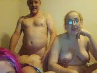 醜い ぽってり daughters double-blowjob しない 彼らの 脂肪 パパ