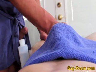 Massagem fetiche atlético bumfucking